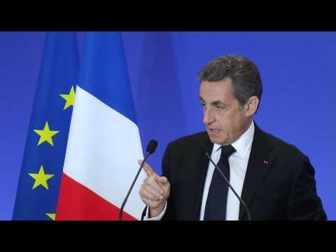 Nicolas Sarkozy - Réunion des nouveaux adhérents