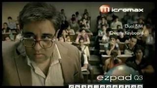 MOHSIN IN MICROMAX MOBILE AD