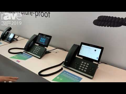ISE 2019: Yealink Shows T5 Phone Series for Microsoft Teams UC Applications