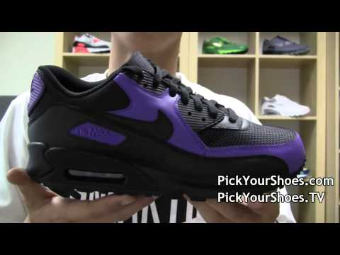 Nike Air Max 90 black varsity purple 325018-026