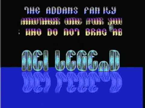 Tune by NEI Legend Crack Group on Addams Family c64 - 1992
