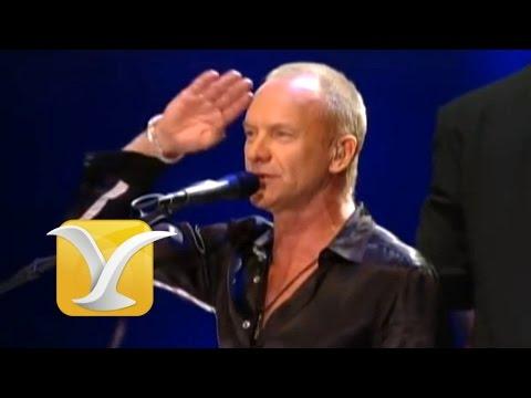 Festival de Viña del Mar  2011, Sting, King of pain