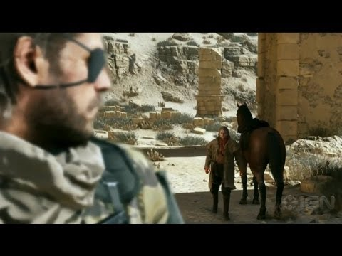 Metal Gear Solid V Reveal Trailer - E3 2013 Microsoft Conference