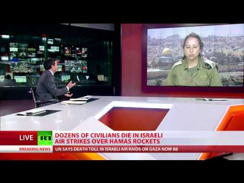 'People in Gaza are not the target' - IDF Spokesperson on airstrike barrage