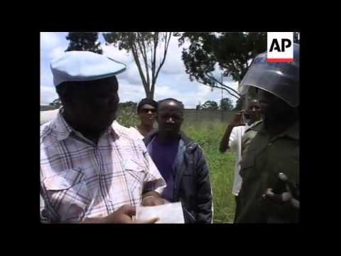 Police break up opposition rally, MDC leader Tsvangirai speaks