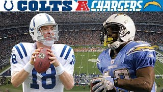 Manning & Sproles Wild Duel! (Colts vs. Chargers, 2008 AFC Wild Card) | NFL Vault Highlights