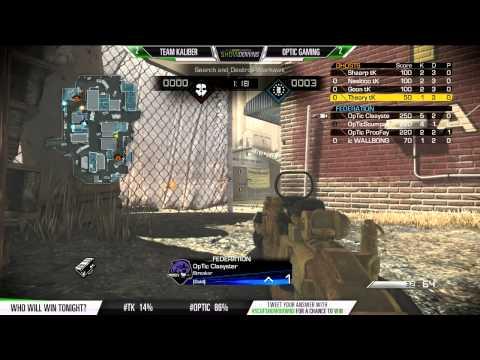 SCUF Showdowns Optic vs TK Game 5 SnD Warhawk September 18 2014