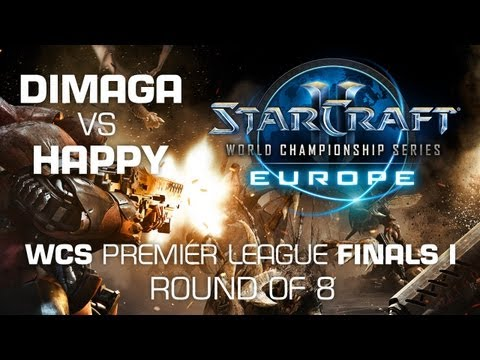 Happy vs. DIMAGA - Quarter Finals - WCS Europe Premier League