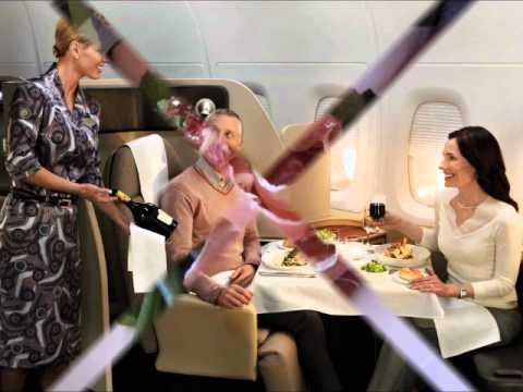 QANTAS AIRLINES FIRST CLASS AND BUSINESS CLASS REVIEW