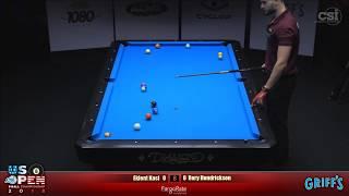 2018 US Open 8-Ball Championship: Eklent Kaci vs Rory Hendrickson