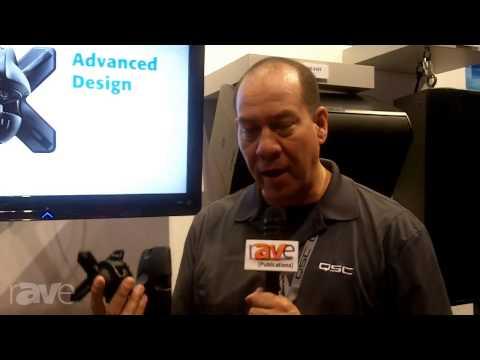 InfoComm 2013: QSC Audio Shows Off The X Mount