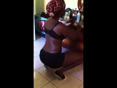 Sexy Drea dancing (jamaican honey)