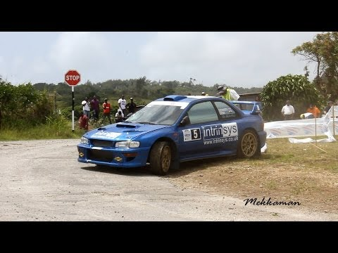 SOL Rally Barbados 2013 - Day 1 at Luke Hill