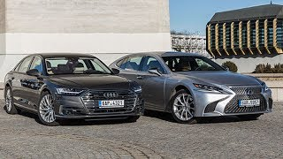 Luxury And Stylish - 2019 Audi A8 vs 2019 Lexus LS