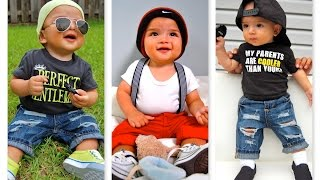 CUTE Baby boy's Outfit  (6 months old) | Baby summer/springs || Erwinasland