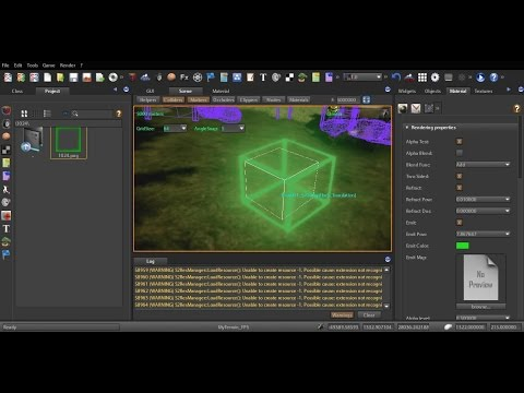 Techniques for the production of energy box-Photoshop-3DS Max-S2Engine HD 1.4.6-Speed Video