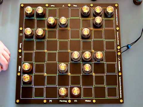 Nixie chess short demo.
