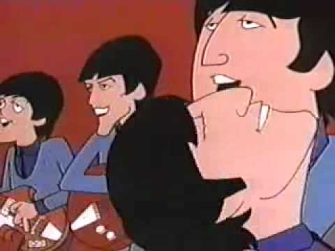Beatles Cartoon STEREO - I Am the Walrus
