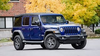 2018 Jeep Wrangler Unlimited Sport Review
