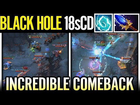 Abed 18s CD Electric Black Hole Incredible Comback Storm Spirit Dota 2