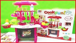 Đồ chơi nấu ăn nhà bếp kitchen shopkins màu hồng với (Chim Xinh)
