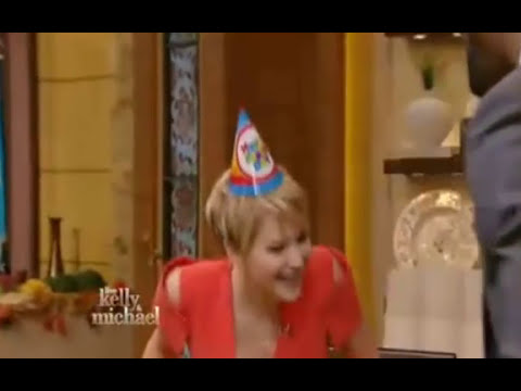 Jennifer Lawrence on Live with Kelly and Michael