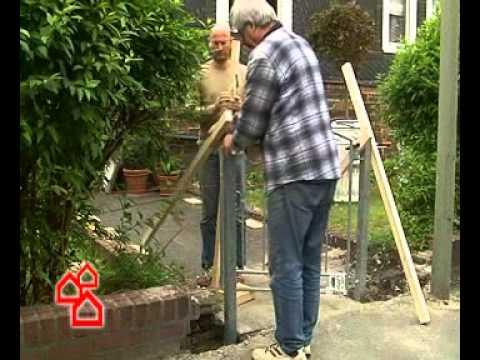 BAUHAUS TV - Montage Eines Gartenzauns
