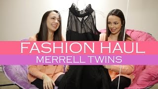 Fashion Haul - Merrell Twins