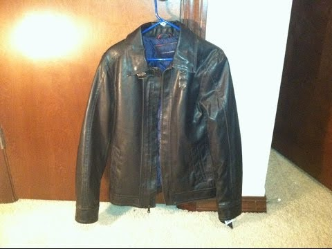 Tommy Hilfiger Brown Leather Jacket Review