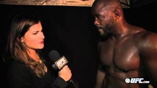 UFC 167: Rashad Evans Post-Fight Interview