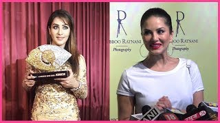 Sunny Leone REACTS On Shilpa Shinde's Win In Bigg Boss 11 | Dabboo Ratnani Calendar 2018 Launch