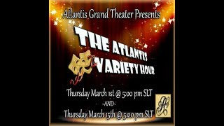 Gracie   Hotline   The Atlantis Variety Hour 1 and 15 March 2018