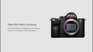 Sony | α | α7R III | Pixel Shift Multi Shooting