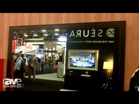 CEDIA 2015: Seura Exhibits The Vanishing Entertainment Mirror TV