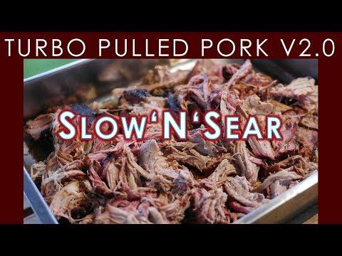 🐷 Turbo PULLED PORK V2.0 mit dem Slow'N'Sear   BBQ & Grill   Deutsches Rezept   123  