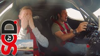 GUY MARTIN drives Ferrari FXX | Reaction video