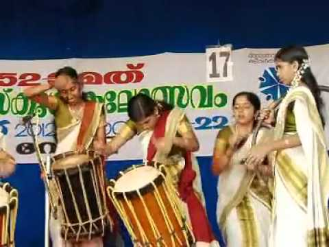 Chendamelam-52nd School Kalolsavam Thrissur video