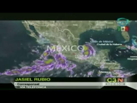 Tormenta tropical Dolly podría impactar Tamaulipas