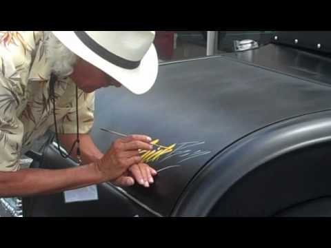 Hot Rod Pinstripping by Vance Dobbins Cha