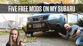 My 5 Favorite Free (or almost free) Subaru Mods