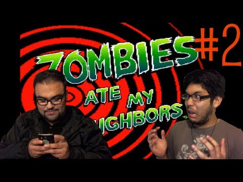 Zombies Ate My Neighbors - GameArea - Zombies Ate My Neighbors #2 - (PANDA! STOP TEXTING!) - User video