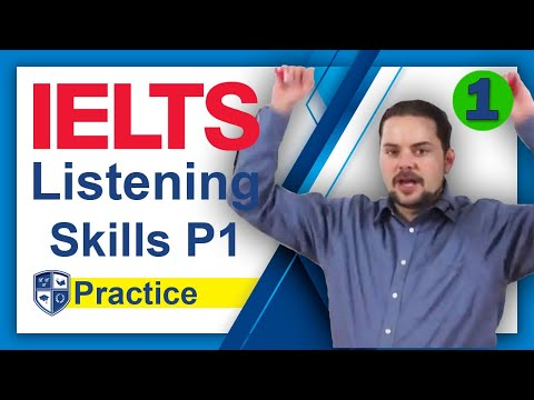 IELTS Listening Section Example Test and Skills Part 1