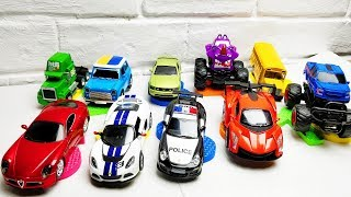 Learn Numbers & Colors for Children with Car Toys / Colours and Numbers Videos Collection for Kids