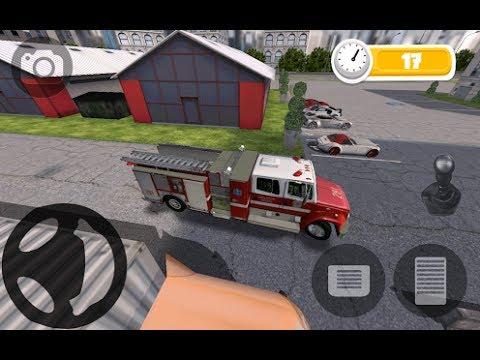 Fire Truck Parking Game Best