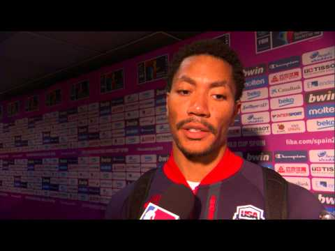 Derrick Rose on Team USA's Win vs Slovenia