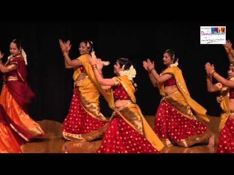 Ladies Dance Performance On A Medley Of South Indian Song By  Sampada's Dance Studio Students video