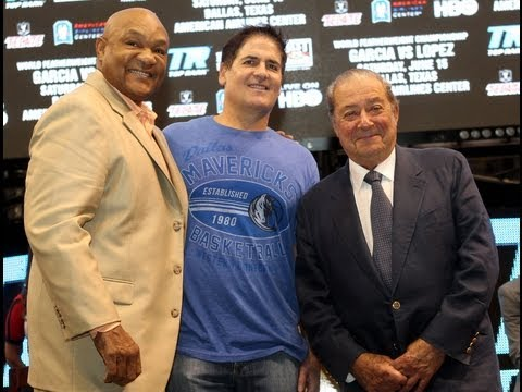 Bob Arum Teams with Mark Cuban, Owner of the Dallas Mavericks