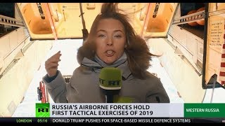 Sky's the limit? Russian Airborne Troops hold first tactical exercises of 2019
