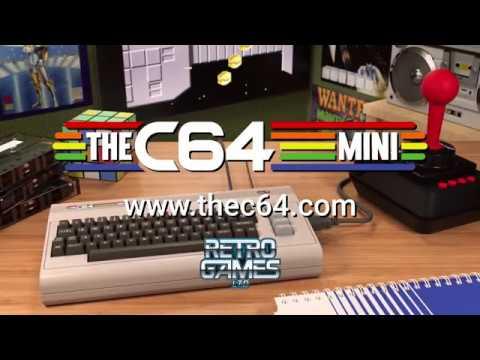 THEC64 MINI promo English