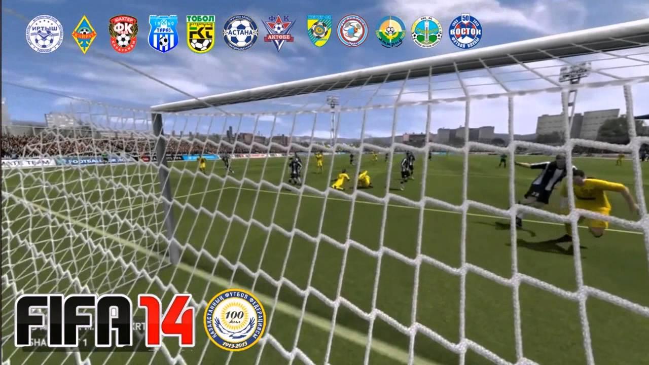 FIFA 14 Kazakhstan Premier League (KPL) + Сборная Казахстана.